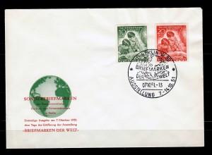 Berlin: MiNr. 80-81, FDC: Briefmarkenausstellung 1951