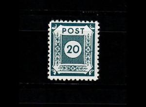 SBZ MiNr. 48 F c, postfrisch, **, BPP Signatur