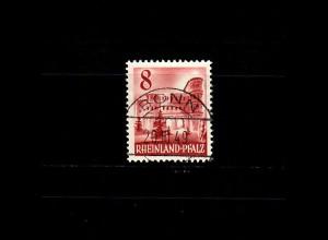 Franz. Zone Rheinland-Pfalz: MiNr. 36, gestempelt Bonn, BPP Signatur