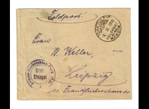 1918 Mardin MIL MISS vom internierten Telegraphist auf der Askard Constantinopel