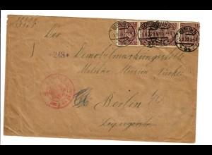1920: Deutsche Militärmission Türkei, Demobilmachung, siehe Beschreibung