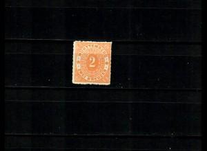 Württemberg MiNr. 37 (*), tief geprüft, BPP
