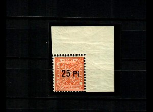 Württemberg: MiNr. 240 y, postfrisch, **, Eckrand