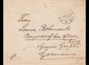 1922: Georgien nach Bergedorf bei Hamburg