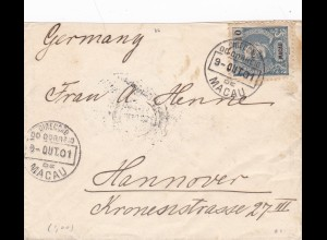 1901: Macau/Portugal to Germany/Hannover