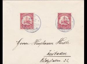1907: DSWA: nach Wiesbaden MeF