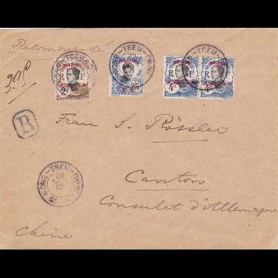 1912: Indo Chine: Mongtseu to China/Mong-Tseu-Chine
