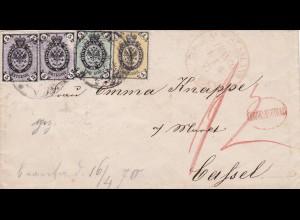 1874: Bratislava to Kassel/Germany