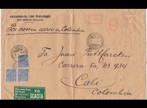 1930: Netherlands via SCADTA to Colombia/Cali