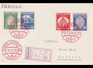 1936: Eesti - Pirita-Varemed: Registered to Tallinn
