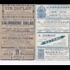 France: Carte-Lettre Paris: Vendue 5 Centimes, Publicité