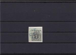 Hannover: 2x MiNr. 2 1851, gestempelt Bogenecke