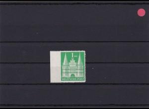 BiZone: MiNr. 97Uleg. links ungezähnt, enge Zähnung, postfrisch