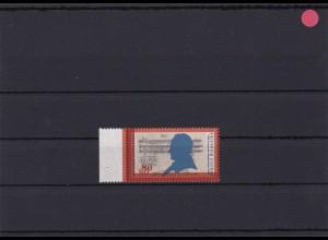 BRD: MiNr. 1425 DD, Doppeldruck der Farbe Orange, postfrisch, Luxus