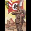 Propaganda Karte: Parteitag 1936