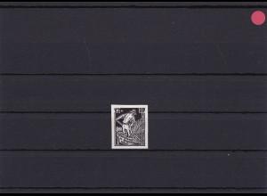 SBZ: Mecklenburg-Vorpommern: MiNr. 25V I, Chromo Papier, ungummiert