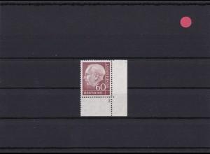 BRD: MiNr. 190FN, Heuss Formnummer 2, postfrisch