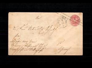 Preussen: Brief von Dornburg nach Eisenach