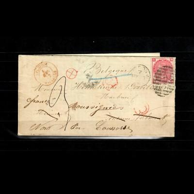 1872: London to Belgium, S6103 via France
