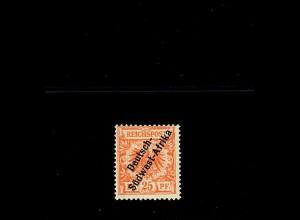 DSWA: MiNr. I, *, orange, BPP Attest