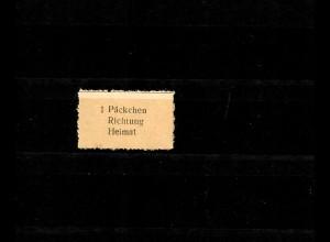 Feldpost MiNr. 15 Ia, ohne Gummi, geprüft
