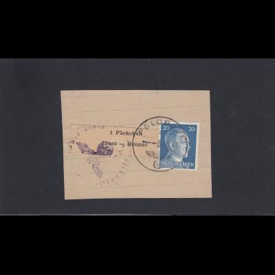 Feldpost MiNr. 14 Type I, gestempelt 19.5.1943, BPP Attest