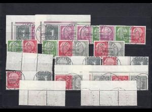 Bund: Heuss Y II, gestempelt, BPP Signaturen, Michel 1800