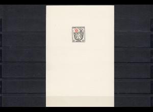 Französische Zone MiNr. 1,3,7,9 M, schöne Vorlagekartons