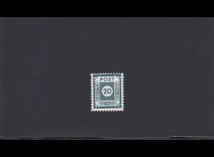 SBZ: MiNr. 48 Fc, postfrisch, **, BPP Signatur