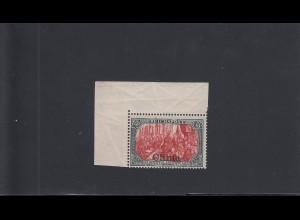 Dt. Post in China: MiNr. 27II, postfrisch, **, Eckrand, BPP Signatur