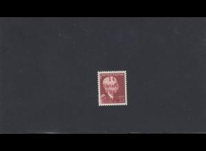 Albanien: MiNr. 9 III, postfrisch mit Setzfehler, **, BPP Signatur