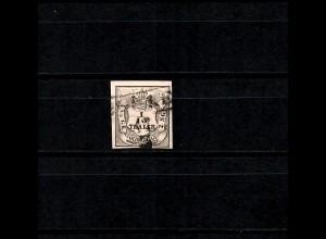 Oldenburg: MiNr. 3 II, gestempelt, BPP Signatur