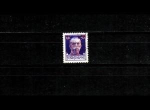 Dt. Besetzung Kotor: MiNr. 3I, gestempelt, BPP Signatur