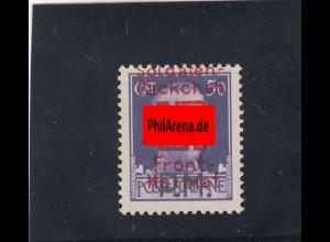 Feldpost: Saloniki Päckchenmarke, MiNR. V, **