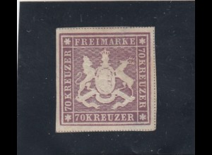 Württemberg: MiNr. 42b **
