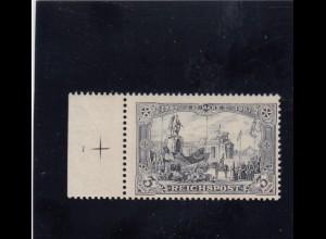 Deutsches Reich: MiNr. 65I, Platte Nr. 1, postfrisch, BPP Attest