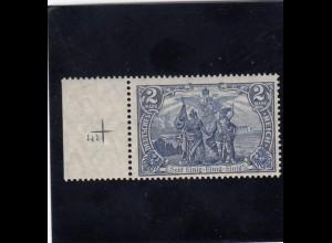 Deutsches Reich: MiNr. 95 AI, Platte Nr. 145, postfrisch mit BPP Attest