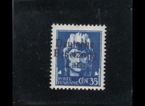 Zara: MiNr. 7 II, postfrisch