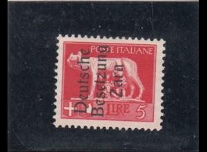 Zara: Michel Nr. 15 II, postfrisch