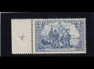 Deutsches Reich: MiNr. 82 A mit Platten Nummer **, BPP Attest