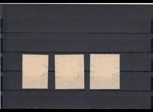 Dänische Legion: Feldpost MiNr. I-III, gestempelt, Signatur BPP Pickenpack