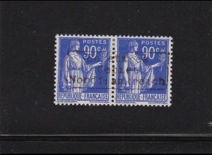 Dt. Besetzung Frankreich: Dünkirchen: MiNr. 19 II im Paar, BPP sign. *