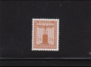 Deutsches Reich: Dienstmarke MiNr. 163y, **, BPP Befund