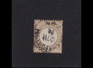 Deutsches Reich: 1872, MiNr. 28, gestempelt, BPP Attest