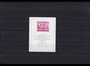 DDR: MiNr. Block 10 XII, PF IV, postfrisch