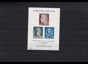 DDR: MiNr. Block 12 II, postfrisch