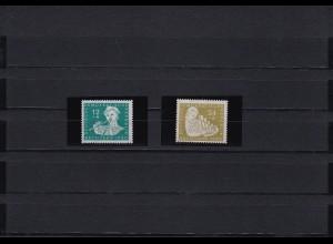 DDR: MiNr. 256I und 257I, **, postfrisch