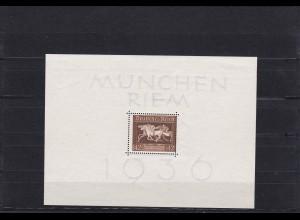 Deutsches Reich: MiNr. Block 4, **, Verzähnung, BPP Foto Attest