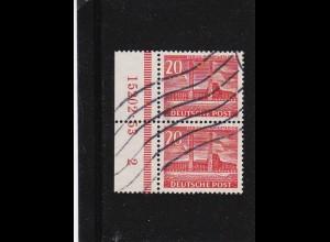 Berlin: MINr. 113, gestempelt, HAN Nummer