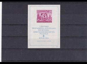 DDR: MiNr. Block 10 XII z, postfrisch